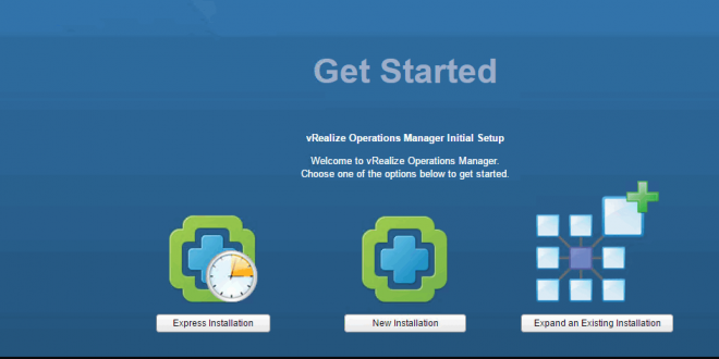 vRealize Operation Manager