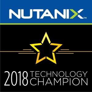 Nutanix Technology Champions  2018