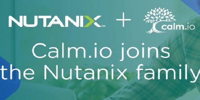 Nutanix Calm Io